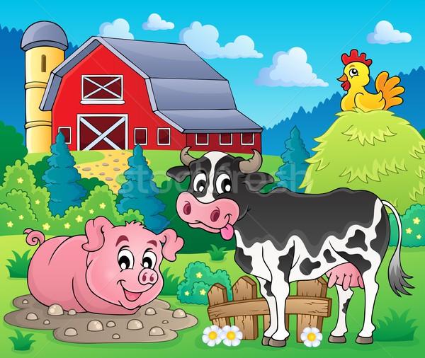 Farm animals theme image 1 Stock photo © clairev