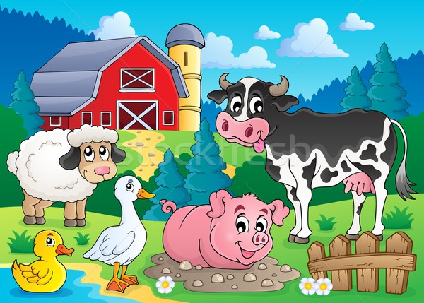 Farm animals theme image 3 Stock photo © clairev