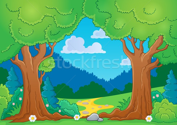 Tree theme image 8 Stock photo © clairev