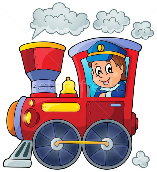 Image with train theme 1 Stock photo © clairev