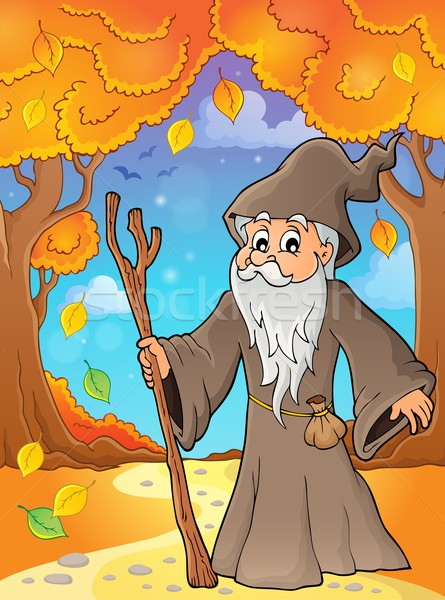 Druid theme image 5 Stock photo © clairev