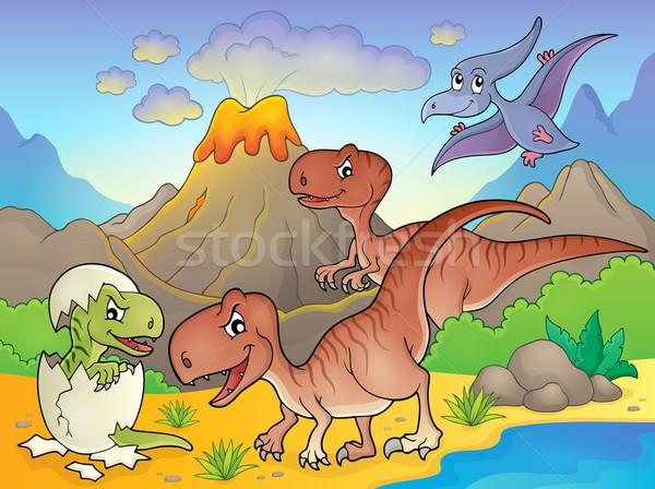Dinosaur topic image 6 Stock photo © clairev
