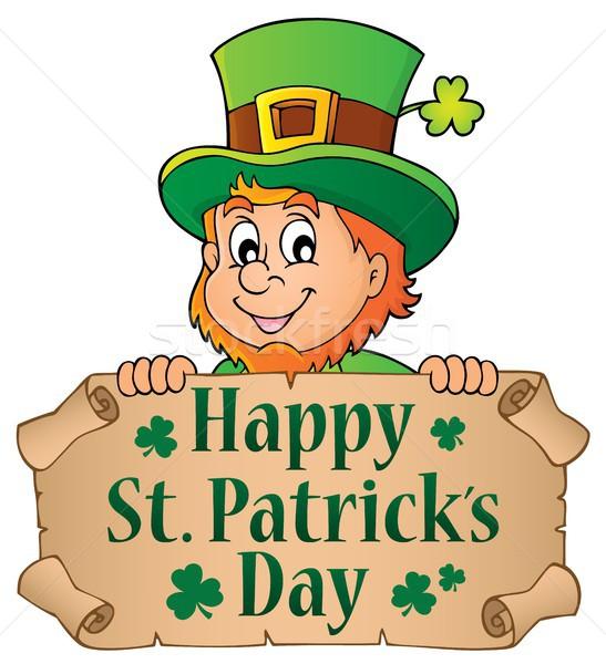 Happy St Patricks Day theme 4 Stock photo © clairev