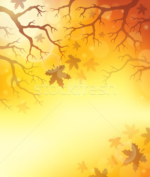 Autumn theme background 7 Stock photo © clairev