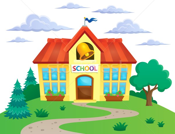 School building theme image 2 Stock photo © clairev