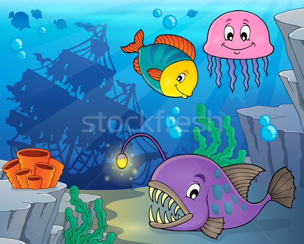 Ocean fauna topic image 3 Stock photo © clairev