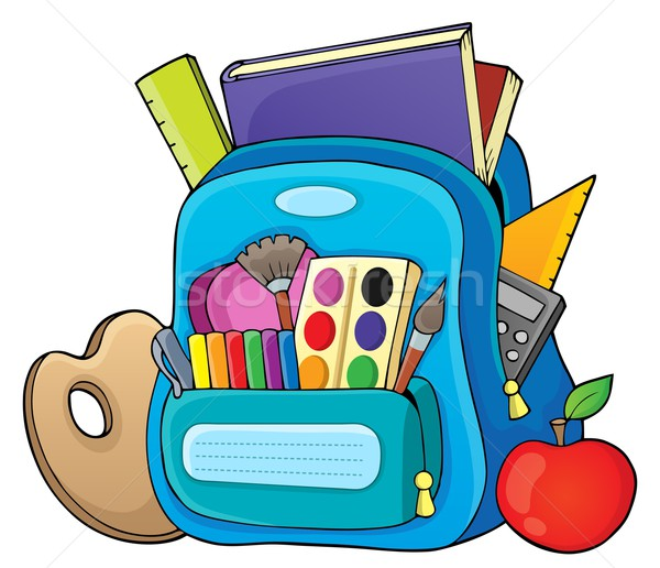 Schoolbag theme image 1 Stock photo © clairev