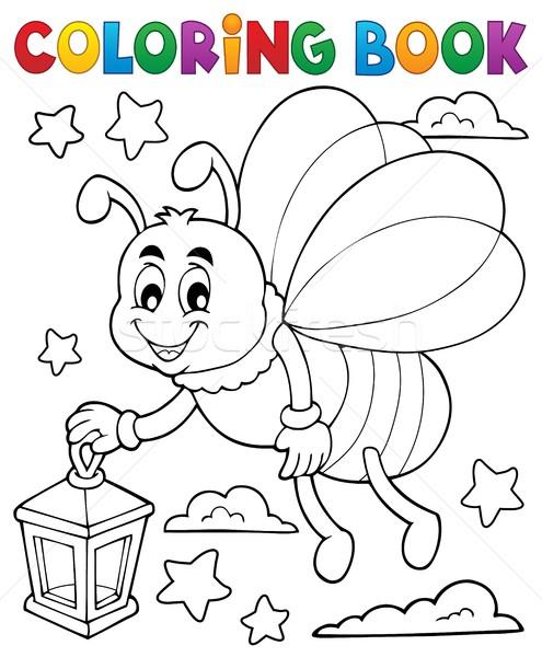 Boyama Kitabı Ateş Böceği Fener Gülümseme Kitap Doğa