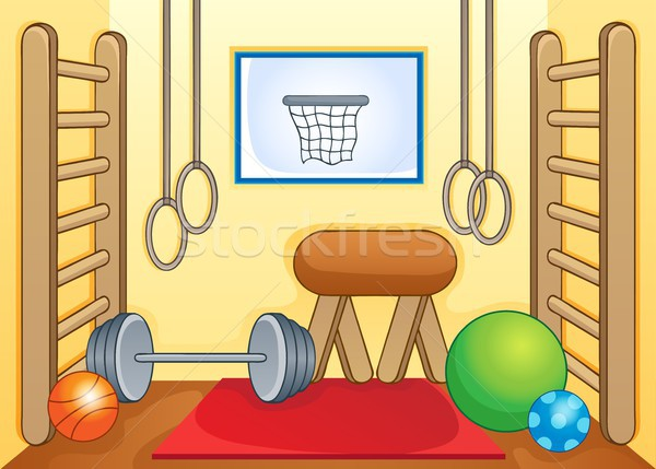 Sport and gym theme image 1 Stock photo © clairev