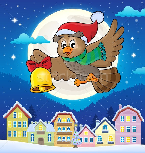 Christmas owl theme image 4 Stock photo © clairev