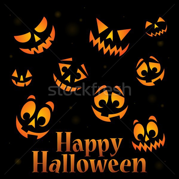 Happy Halloween sign thematic image 5 Stock photo © clairev