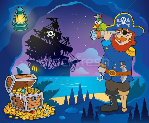 Pirate cove theme image 3 Stock photo © clairev