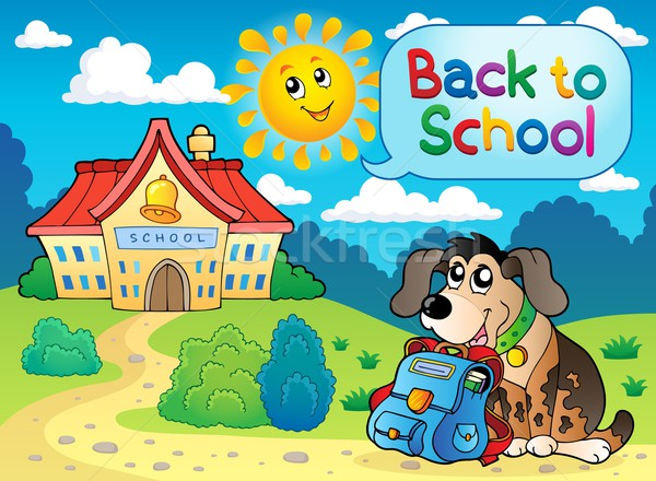 Back to school thematic image 5 Stock photo © clairev