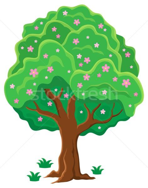 Springtime tree topic image 2 Stock photo © clairev
