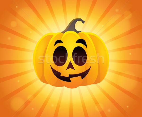 Halloween pumpkin topic image 1 Stock photo © clairev