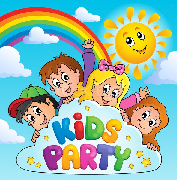 Kids party topic image 9 Stock photo © clairev