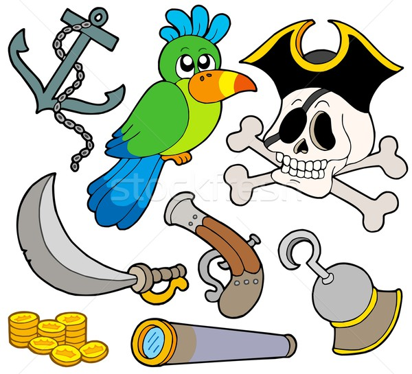 Pirate collection 9 Stock photo © clairev