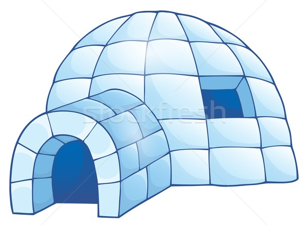 Igloo theme image 1 Stock photo © clairev