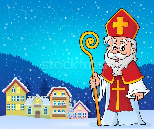 Saint Nicolas theme image 3 Stock photo © clairev