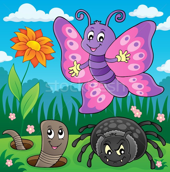 Spring animals and insect theme image 7 Stock photo © clairev
