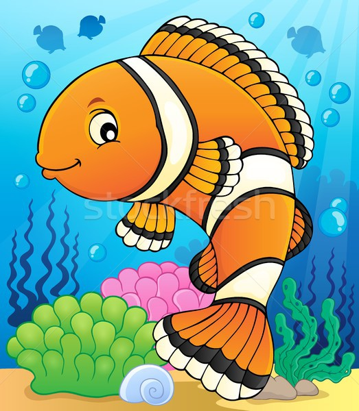 Clownfish topic image 2 Stock photo © clairev