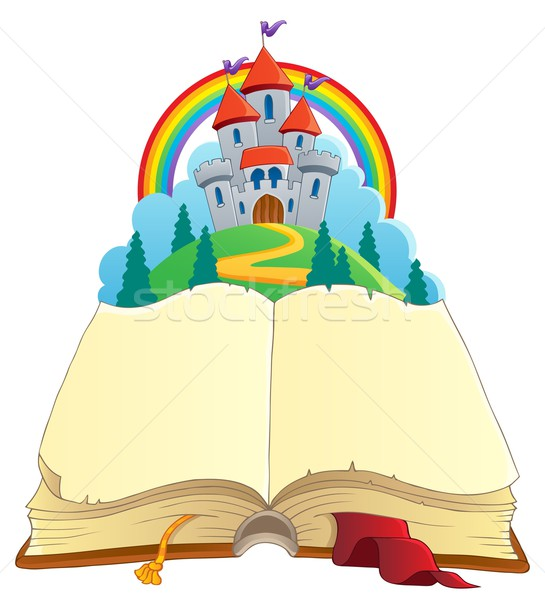 Fairy tale book theme image 1 Stock photo © clairev