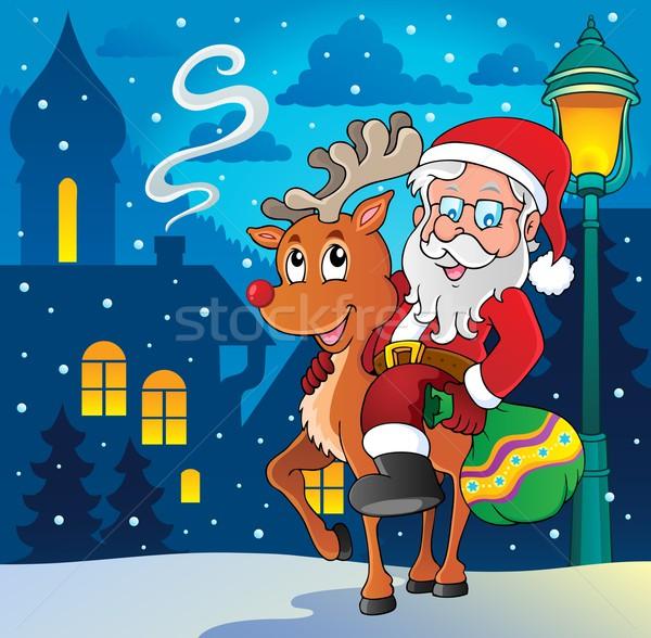 Santa Claus thematic image 8 Stock photo © clairev