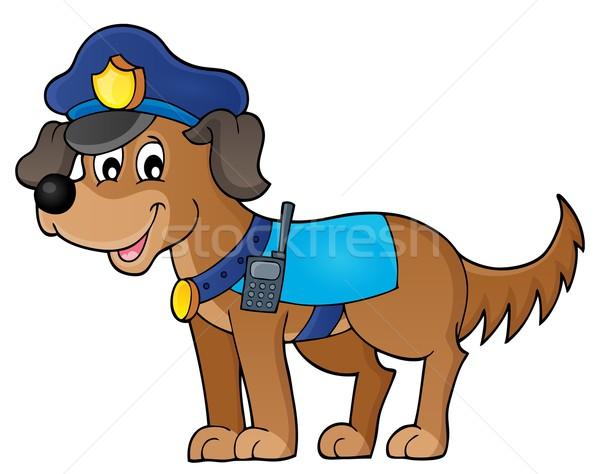 Police dog theme image 1 Stock photo © clairev