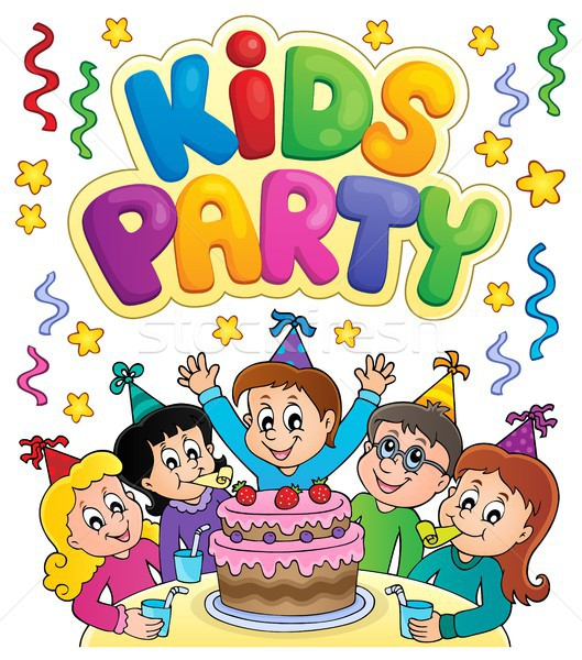 Kids party topic image 7 Stock photo © clairev