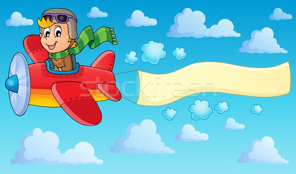 Image with airplane theme 2 Stock photo © clairev