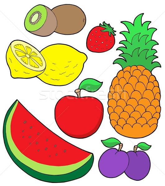 Fruit collection 2 Stock photo © clairev