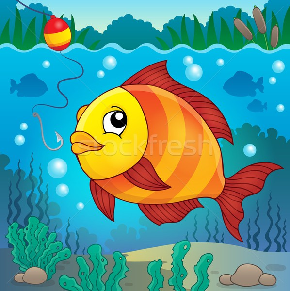 Freshwater fish topic image 4 Stock photo © clairev