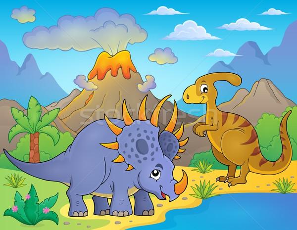 Dinosaur topic image 8 Stock photo © clairev