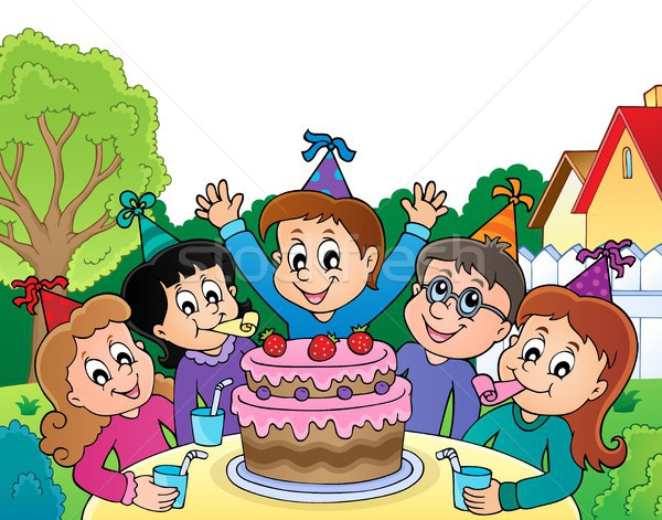 Kids party topic image 4 Stock photo © clairev