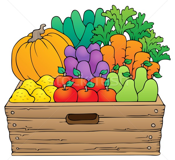 Farm products theme image 1 Stock photo © clairev