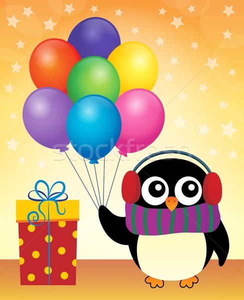 Party penguin theme image 9 Stock photo © clairev