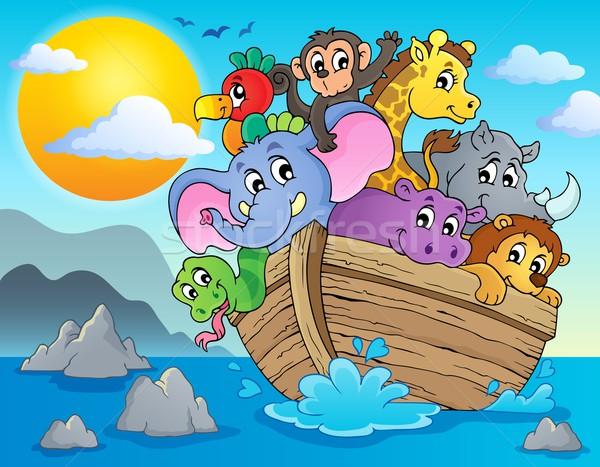 Noahs ark theme image 2 Stock photo © clairev