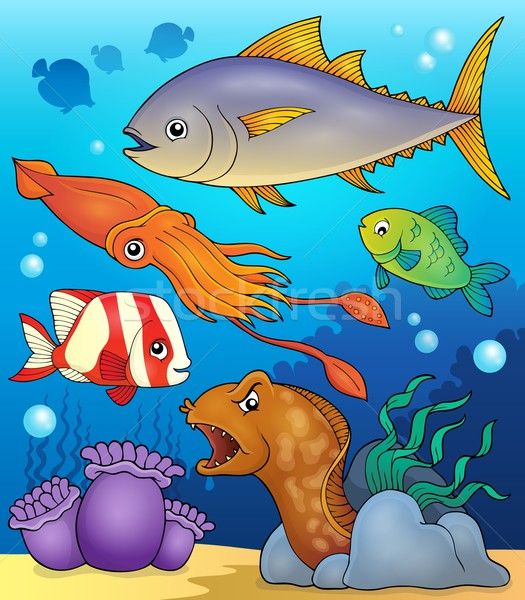 Ocean fauna topic image 4 Stock photo © clairev