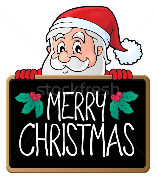 Merry Christmas subject image 3 Stock photo © clairev