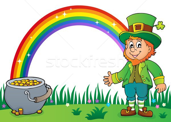 Leprechaun theme image 2 Stock photo © clairev