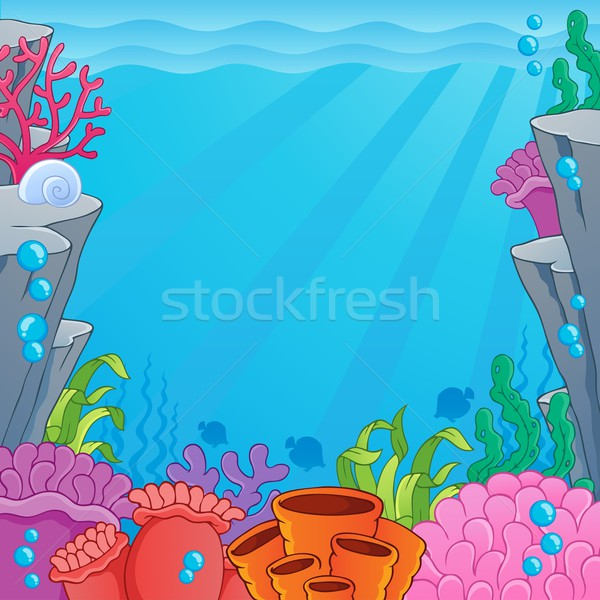 Image with undersea topic 4 Stock photo © clairev