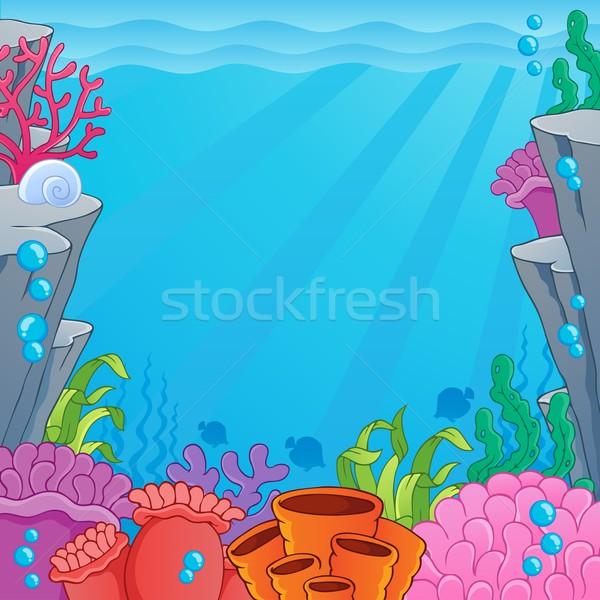 Сток-фото: изображение · тема · природы · морем · искусства · листьев