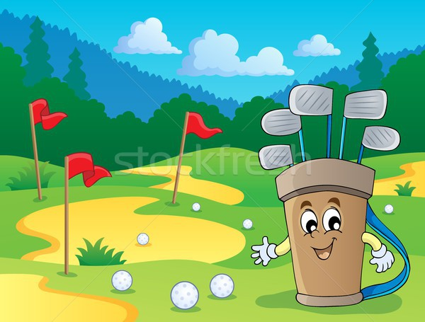 Image with golf theme 2 Stock photo © clairev