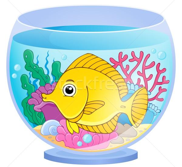 Aquarium image poissons art usine subaquatique Photo stock © clairev