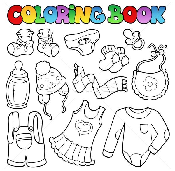 Carte De Colorat Copil Haine Carte Modă Vopsea