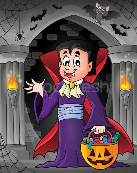 Halloween vampire theme image 7 Stock photo © clairev