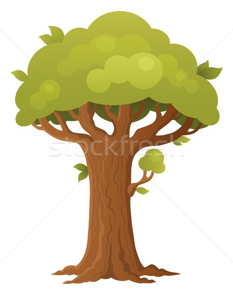 árvore tópico imagem verão planta estilo Foto stock © clairev