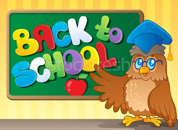 Back to school thematic image 3 Stock photo © clairev