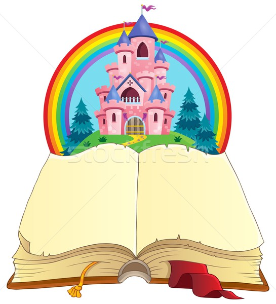Fairy tale book theme image 3 Stock photo © clairev