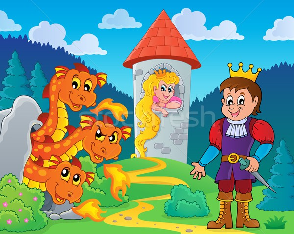 Fairy tale theme image 5 Stock photo © clairev